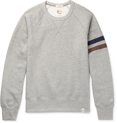 Kingsman + Todd Snyder + Champion Harry's Fleece-Back Cotton-Blend Jersey Sweatshirt