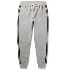 Kingsman + Todd Snyder + Champion Harry's Tapered Fleece-Back Cotton-Blend Jersey Sweatpants