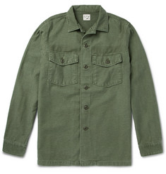 OrSlow Slub Cotton Shirt Jacket