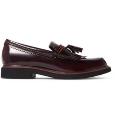 Tod's Leather Tasselled Loafers