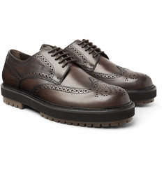 Tod's - Leather Wingtip Brogues