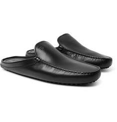 Tod's - Gommino Leather Backless Loafers