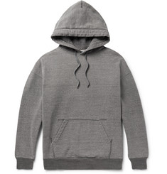 Beams - Mélange Loopback Cotton-Jersey Hoodie