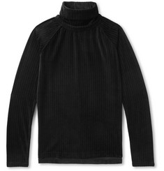 Sasquatchfabrix. Ribbed Velvet Rollneck Sweater