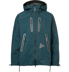 And Wander E Vent DWR-Coated Shell Hooded Jacket