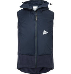 And Wander - Fleece and Shell PrimaLoft Gilet