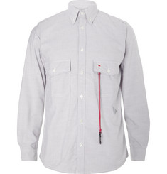 And Wander Coolmax Button-Down Collar Oxford Shirt