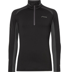 Phenix Parachute Panelled Stretch-Jersey Half-Zip Base Layer