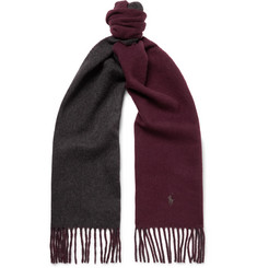 Polo Ralph Lauren - Reversible Virgin Wool-Blend Scarf