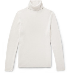 Theory Slim-Fit Ribbed Cashmere Rollneck Sweater