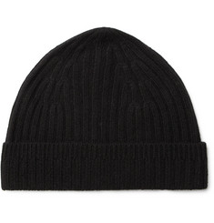 Theory Ribbed Cashmere Beanie