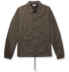 CMMN SWDN Prince of Wales Check-Printed Shell Jacket