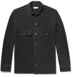 CMMN SWDN Nep Cotton Overshirt