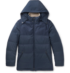 Loro Piana - Wind Storm System Virgin Wool and Quilted Shell Down Jacket