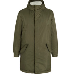 Loro Piana Wind Storm System Shell Hooded Parka