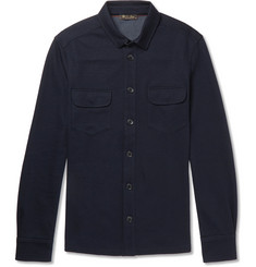 Loro Piana Double-Faced Jersey Overshirt