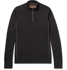 Loro Piana - Slim-Fit Virgin Wool Half-Zip Sweater