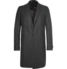 PS by Paul Smith Slim-Fit Prince of Wales Checked Wool-Blend Coat
