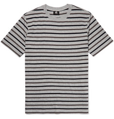 PS by Paul Smith Striped Cotton-Blend Jersey T-Shirt
