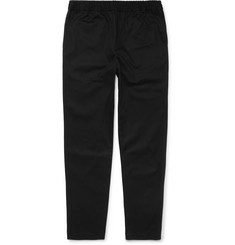 Fanmail - Slim-Fit Organic Cotton-Twill Drawstring Trousers