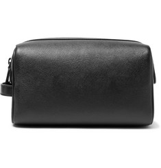 Common Projects Cross-Grain Leather Wash Bag