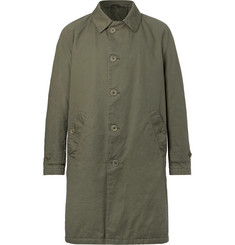 Aspesi - Thermore-Padded Cotton-Twill Coat