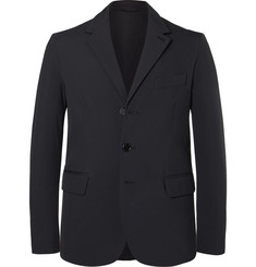 Aspesi Midnight-Blue Thermore-Padded Tech-Shell Blazer