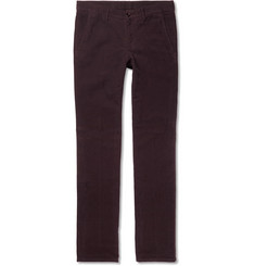 Aspesi Slim-Fit Cotton-Moleskin Trousers
