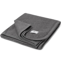 Reigning Champ Birdseye Fleece-Back Cotton-Blend Stadium Blanket