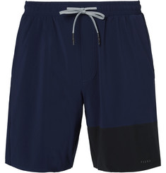 FALKE Ergonomic Sport System Two-Tone Stretch-Shell Shorts