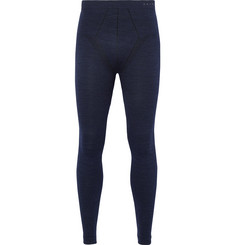 FALKE Ergonomic Sport System Stretch Virgin Wool-Blend Jersey Base Layer Tights