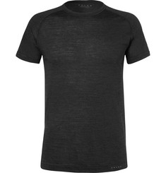 FALKE Ergonomic Sport System Wool and Silk-Blend Jersey T-Shirt
