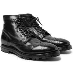 Officine Creative - Aspen Canyon Leather Wingtip Brogue Boots
