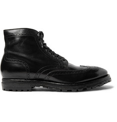 Officine Creative Aspen Canyon Leather Wingtip Brogue Boots
