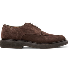 Officine Creative Stanford Suede Derby Shoes