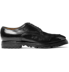 Officine Creative Aspen Polished-Leather Derby Shoes