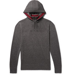 Loro Piana Mezzocollo Silk and Cashmere-Blend Hoodie