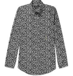 Marc Jacobs Button-Down Collar Printed Cotton Shirt