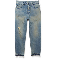 John Elliott Distressed Denim Jeans