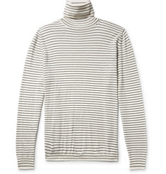 John Elliott Striped Wool Rollneck T-shirt