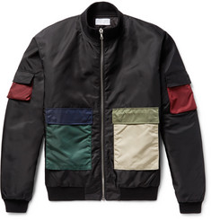 John Elliott - Colour-Block Shell Flight Jacket