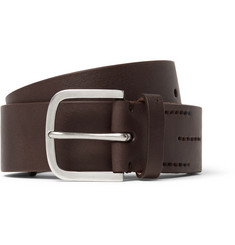 Paul Smith 4cm Brown Leather Belt