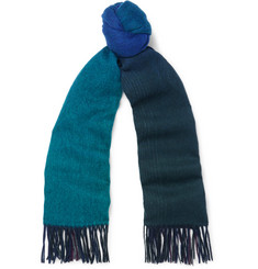 Paul Smith Dégradé Wool Scarf