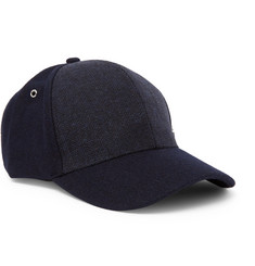 Paul Smith - Herringbone Wool Baseball Cap