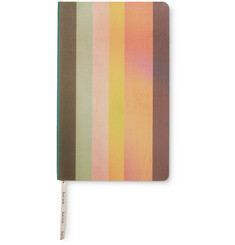 Paul Smith - Striped Canvas Hardcover Notebook