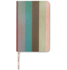 Paul Smith Striped Pocket Notebook