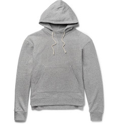 John Elliott Kake Mock Loopback Cotton-Blend Jersey Hoodie