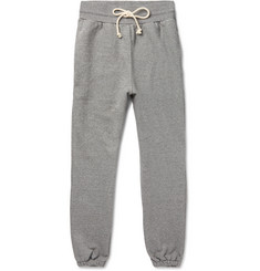 John Elliott Slim-Fit Tapered Loopback Cotton-Blend Jersey Sweatpants