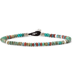 Mikia - Turquoise and Red Jasper Bracelet
