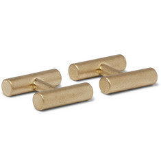 Alice Made This - Kitson Brass Cufflinks